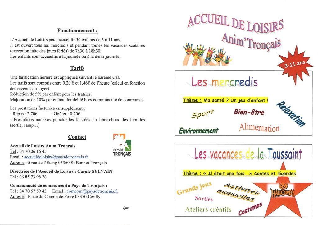 Accueil de Loisirs – période 2 – Pays de Tronçais ec246c3defd7
